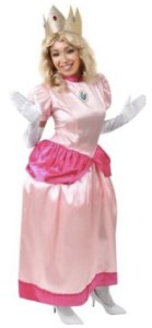 Mario Brothers Princess Peach Costume