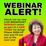 SIGN UP FOR THE NEW WEBINAR SERIES