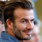 David Beckham(不用多說,英國足球金童,外加辣妹維多莉亞老公)