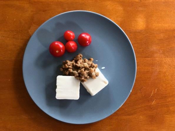 吃納豆、豆腐的日子