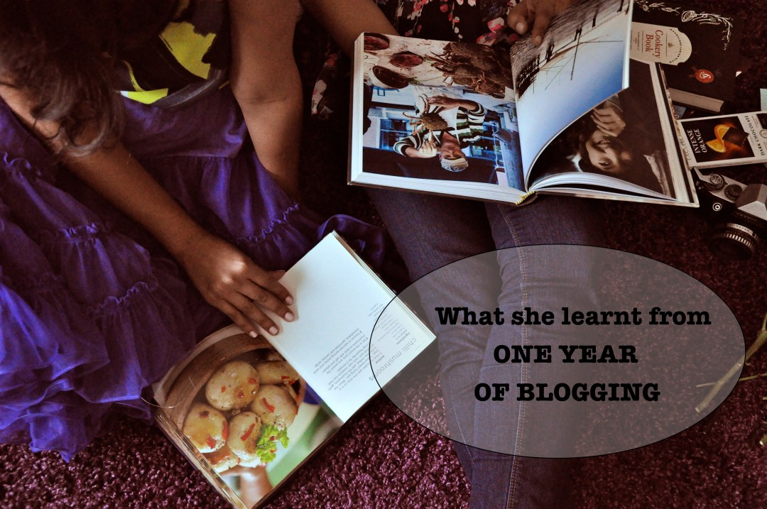 One year of blogging