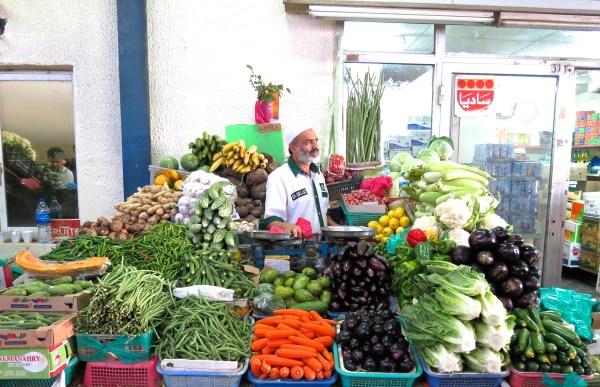 Deira fruit veg market