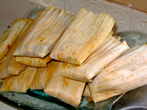 Homemade Mexican Tamales |ShesCookin.com