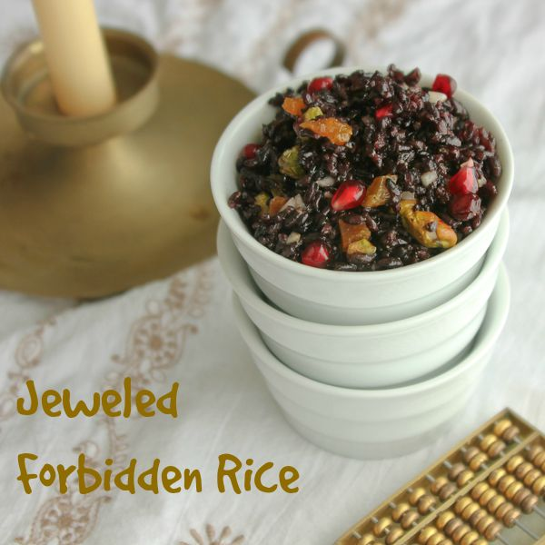 Jeweled Forbidden Rice |Shescookin.com