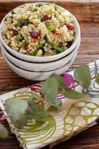 pearl couscous, couscous salads, Gourmet Garden herbs