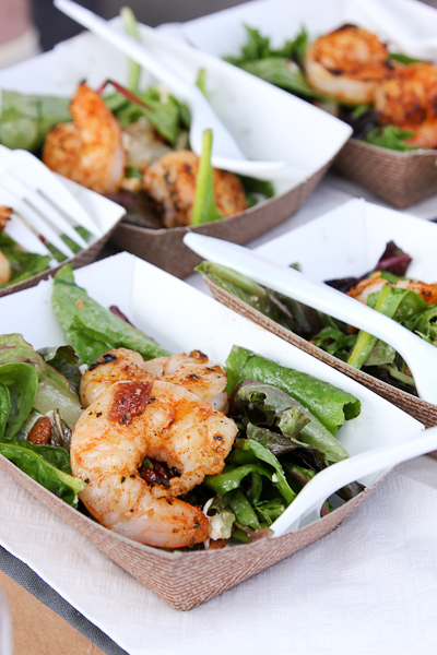 Grilled Shrimp and Pear Salad, Hard Rock Cafe San Diego