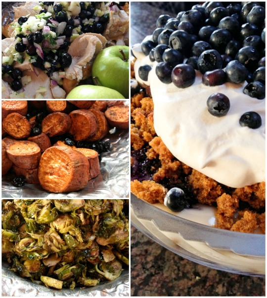 Blueberry Thanksgiving recipes