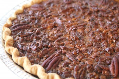 After tasting this award-winning Blue Ribbon Coffee-Toffee Pecan Pie ...