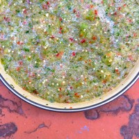 Fast, Fresh + Easy - Tomatillo Salsa Verde
