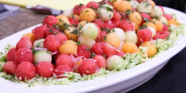Melon Salad with Shallot Vinaigrette