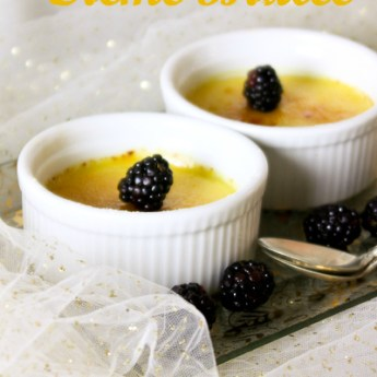 Easy Dairy-Free Creme Brulee with #SafeEggs