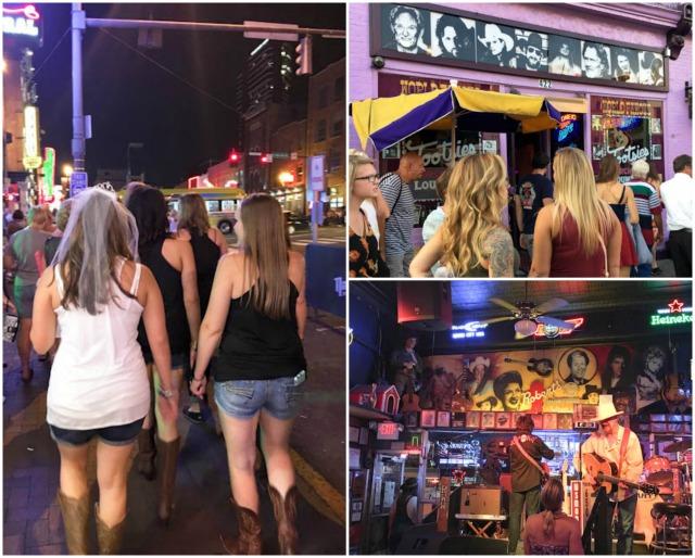 Honky Tonk Row, Nashville   ShesCookin.com