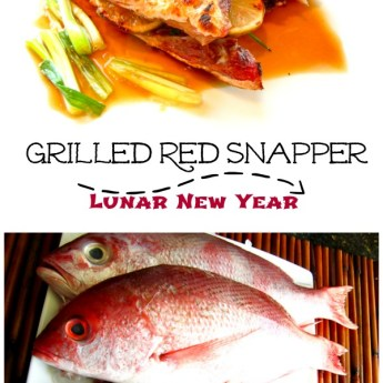 Grilled Whole Red Snapper and the Year of the Rooster