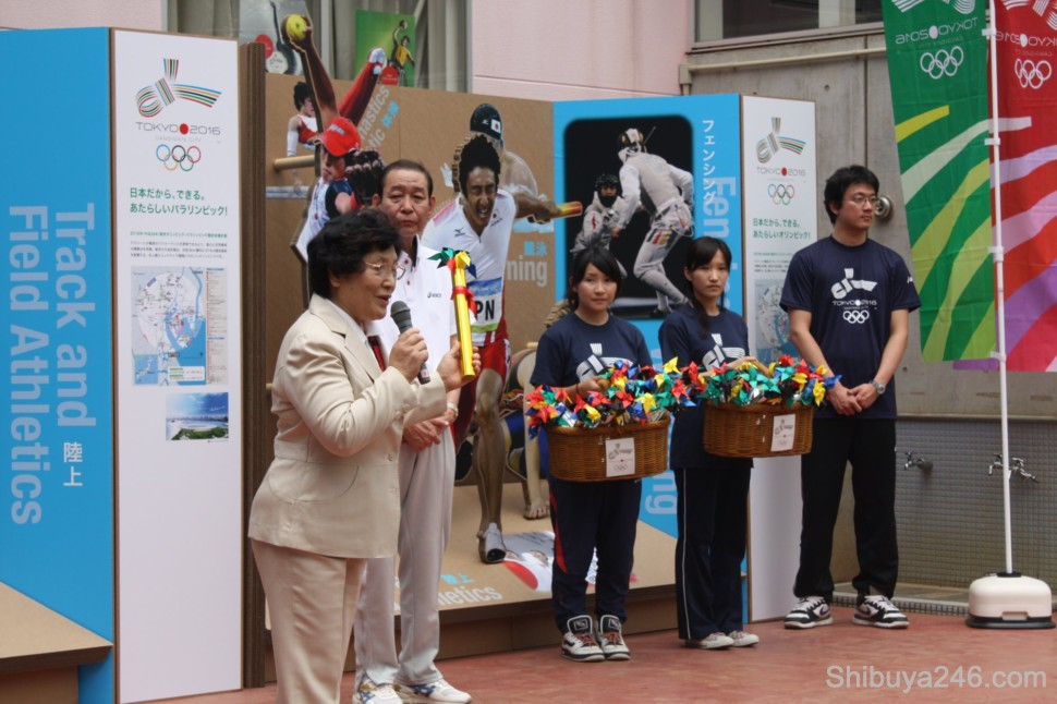 The official ceremonies at the Hatagaya Kindergarten