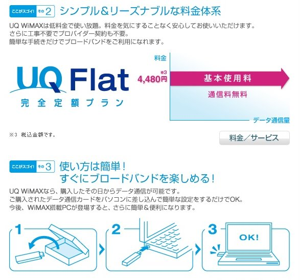 Flat rate, plug into USB port