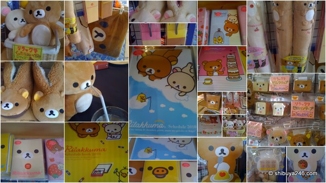 Plenty of great Rilakkuma goodies