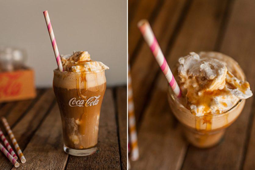 Espresso Caramel Float :)