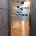 שלט לוגו פרספקס שקוף הנהלת CIRTech Fund שלט