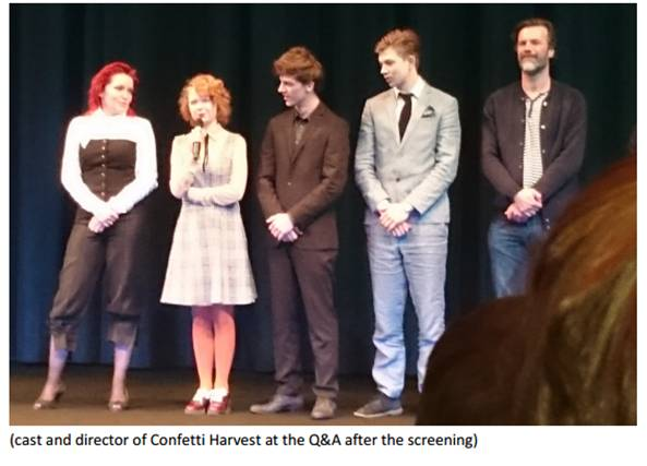 Confetti Harvest at Berlinale