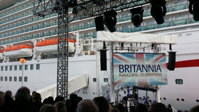 Britannia Inaugural Celebrations