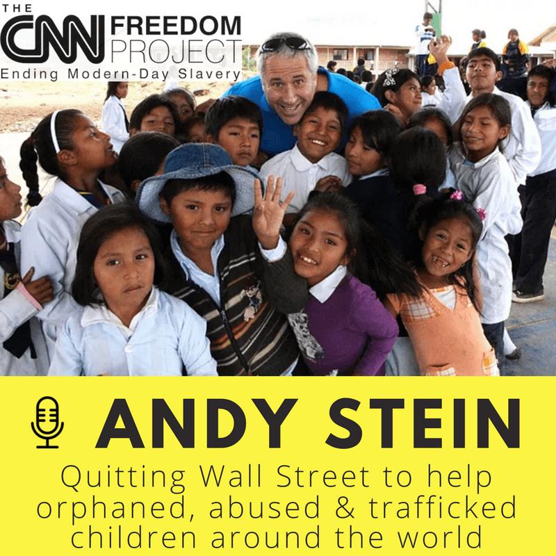 #43 Andy Stein - Orphaned Starfish Foundation - Shin Fujiyama Podcast