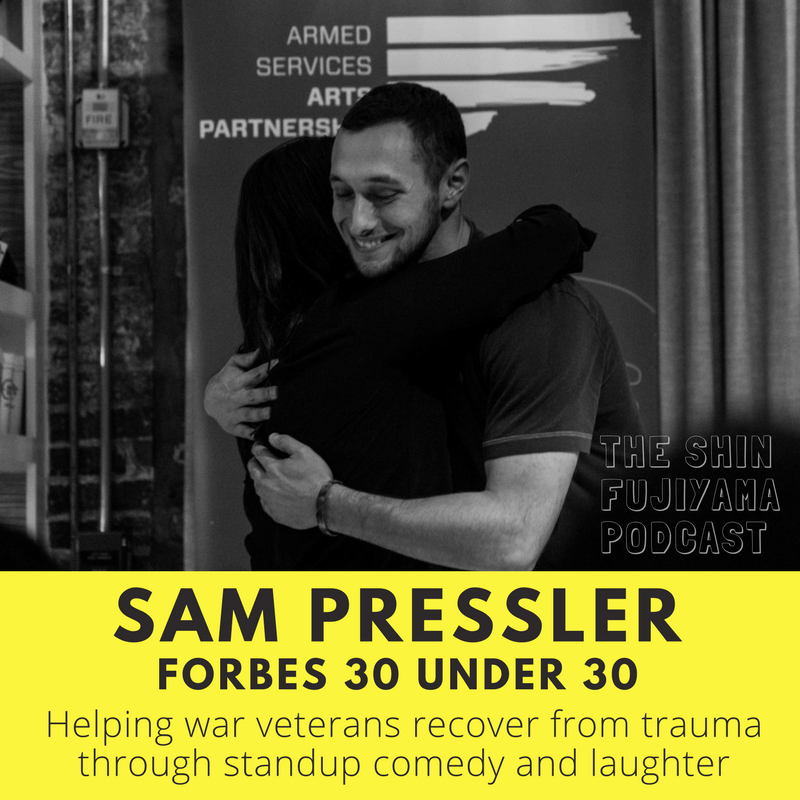 #51 Sam Pressler- Armed Services Arts Partnership (ASAP) - Shin Fujiyama Podcast