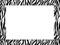 zebra+border