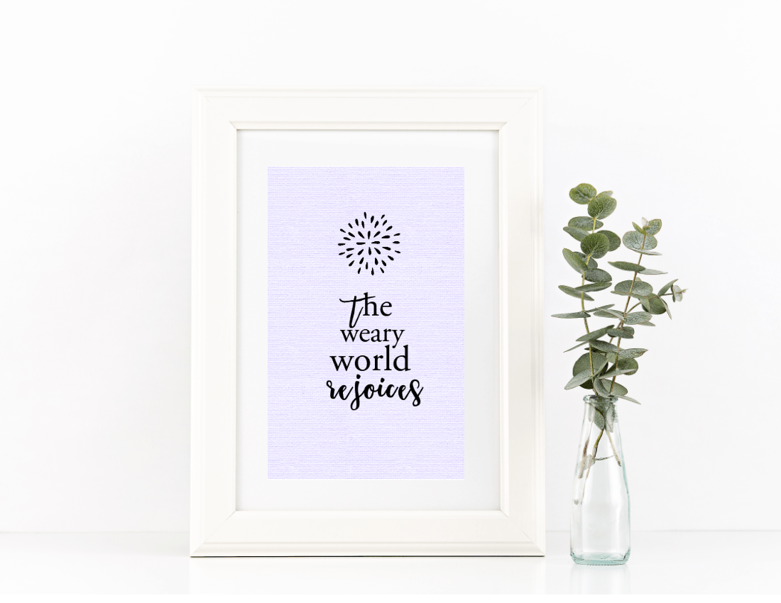 Modern Christmas Wall Art Free Printables
