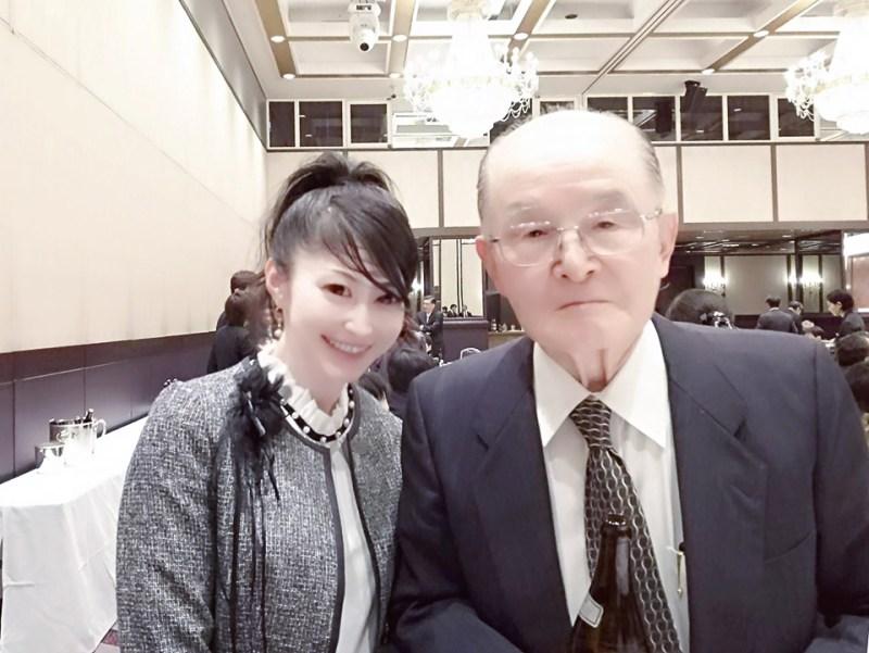 信州大学第一内科開講70周年記念式典・祝賀会にて望月一郎先生と