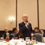 第一内科同窓会元会長前澤正久先生