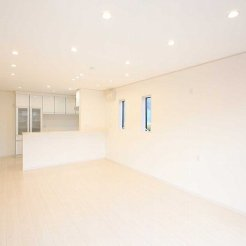 収納家具設置のための壁面を確保
