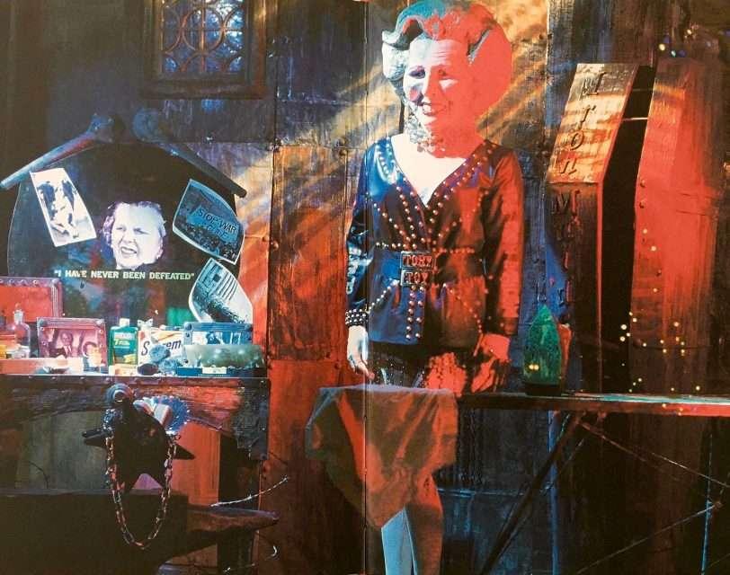 Margaret Thatcher, Iron Lady a la Simon Doonan
