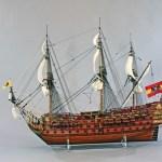 サンフェリーペ 帆船模型