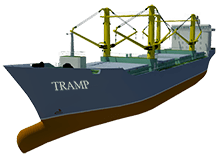 image for tramp vessel