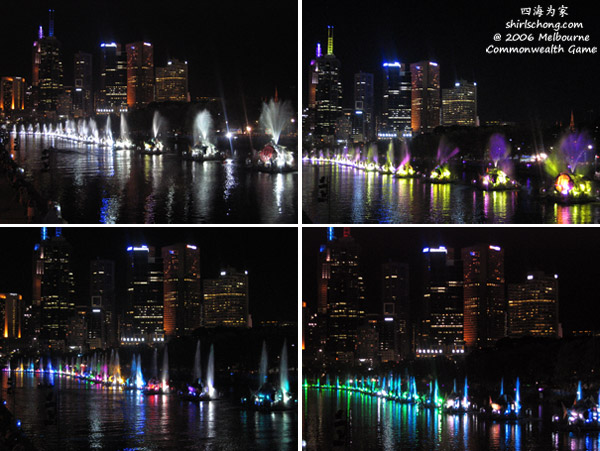 Colourful Fish Boats on Yarra River During Commonwealth Games, Melbourne, 2006
