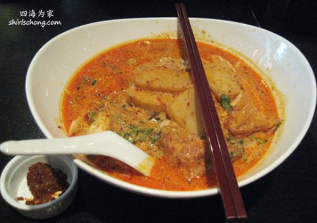 Malsysia food - Curry Laksa