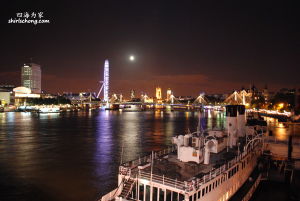 London Night View 伦敦夜景