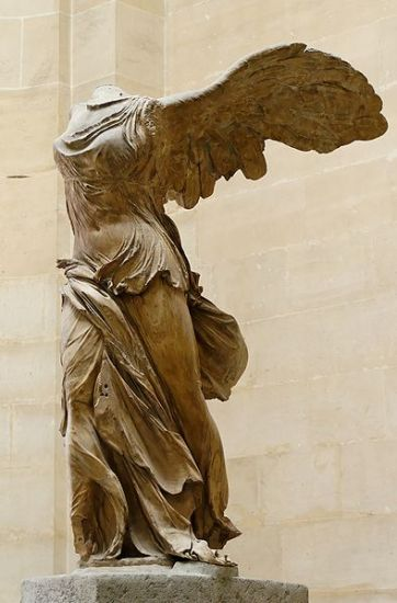 《萨莫特拉斯的胜利女神》  Winged Victory of Samothrace