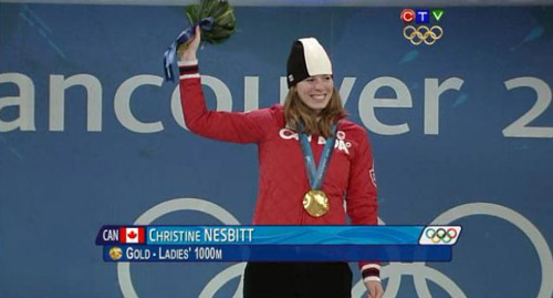 Nesbitt at 2010 Winter Olympics