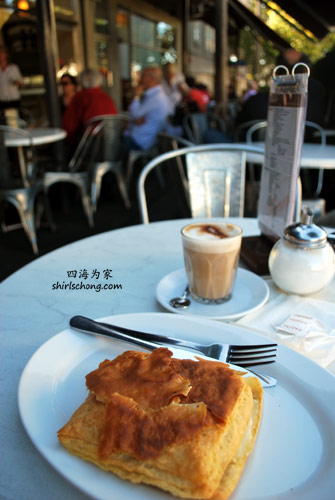 Brunch at Brunetti,Melbourne, Australia