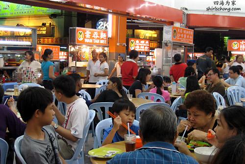 Eating in Malaysia