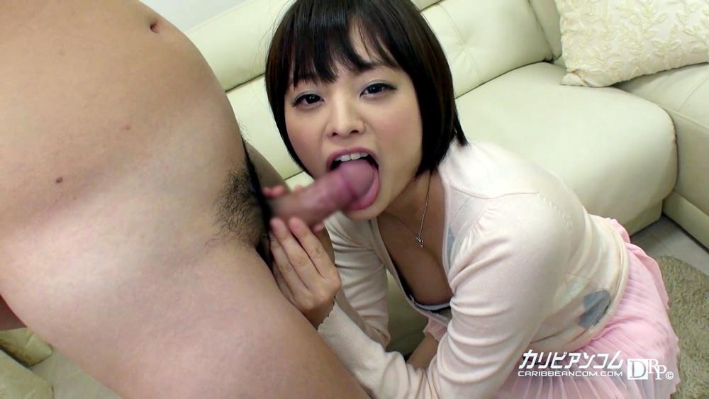 青山未来の舌出しフェラ (6)