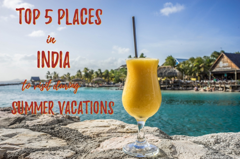 Top 5 places in India to visit in summer vacations!