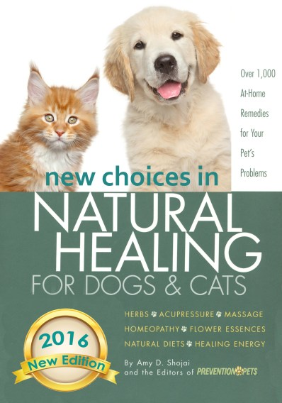 Natural Healing Pet Book