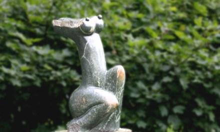 Titel: Torso Künstler: Loud Donza Stein: Green Opal Hoch: 65cm