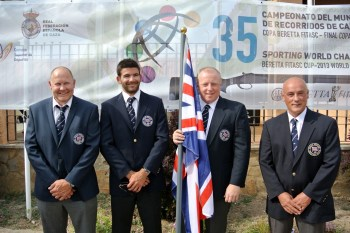 World FITASC 2013 - GB Seniors - Stewart Cumming, Paul Lovick, Kevin Mayor, Ed Solomons