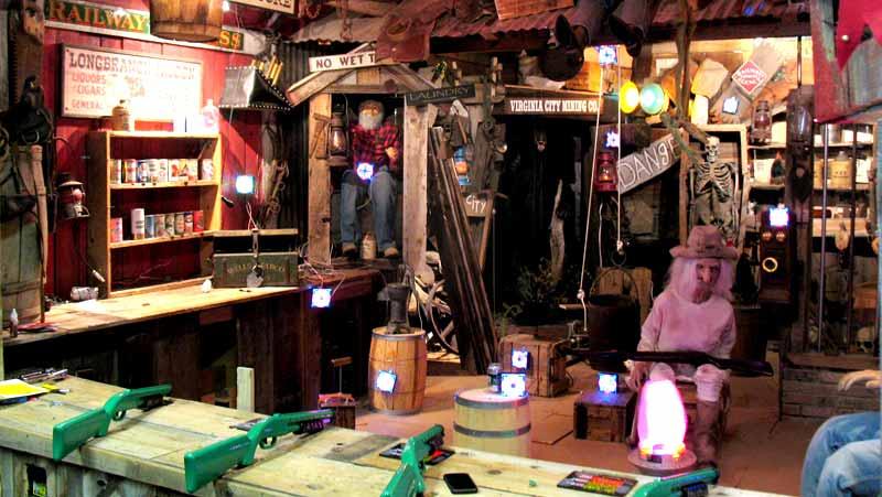 Old West Shooting Galleries