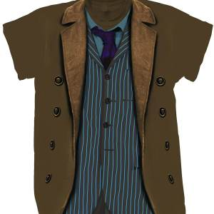 Doctor Who 10th Doctor's Costume T-Shirt