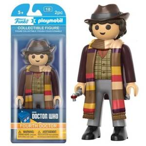 Doctor Who Tom Baker 6-inch Action Figure [Funko]