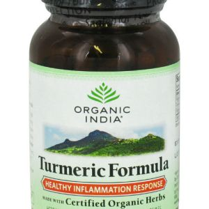 Organic Turmeric Vegetarian Capsules for Joint Health